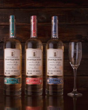 Tequila Ocho Barrel Select Collection & Glass
