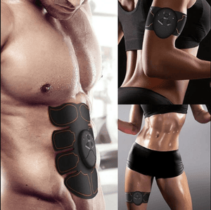 Electric Muscle Stimulator Complete Body Set with Free Buttocks EMS - FitPro Technology