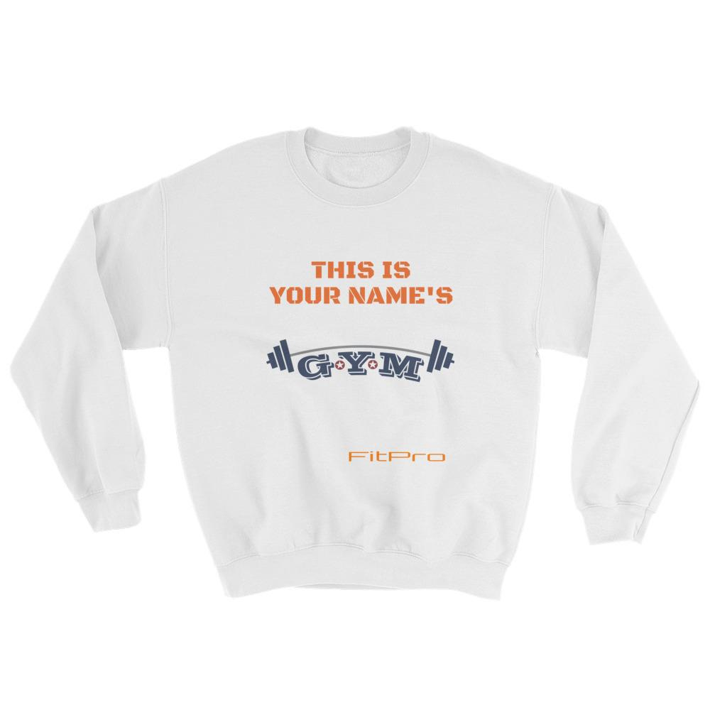 FitPro - Customize Sweatshirt