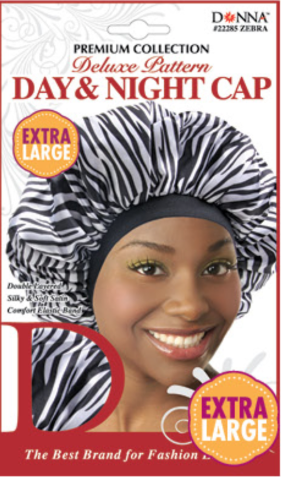 Donna - Day & Night Cap - #22285 Zebra