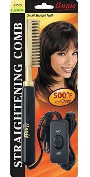 Annie -  Electric Straightening Comb - #5533