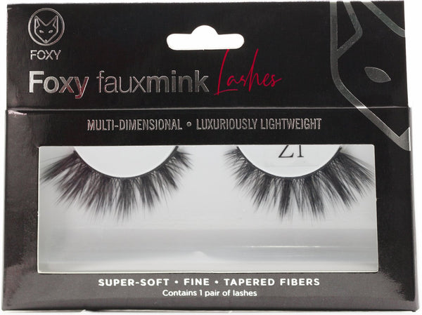 Foxy Faux Mink Eyelashes Model  Z1