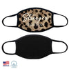 100% COTTON MADE IN THE USA STRONGER THAN EVER LEOPARD FABRIC FACE