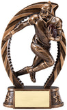 Running Star Football Player Trophy