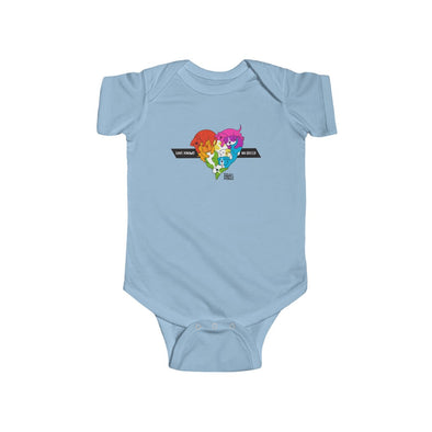 Infant Bodysuit | Love Knows No Breed | PRIDE
