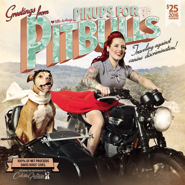 Calendar : 2016 Pinups For Pitbulls