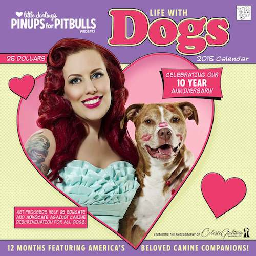 Calendar : 2015 Pinups For Pitbulls