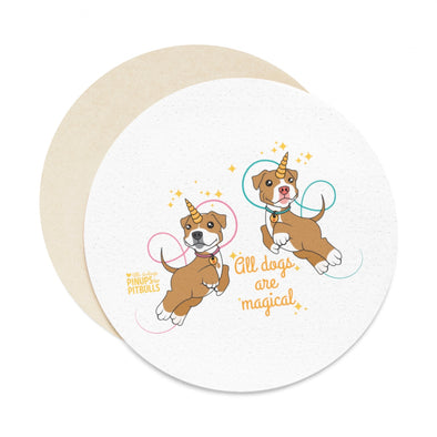 Accessory | All Dogs Are Magical (Piticorn) | Paper Coaster Set (6pcs)