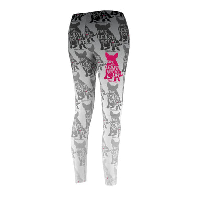 Women's Cut & Sew Casual Leggings | Silhouette Leggings