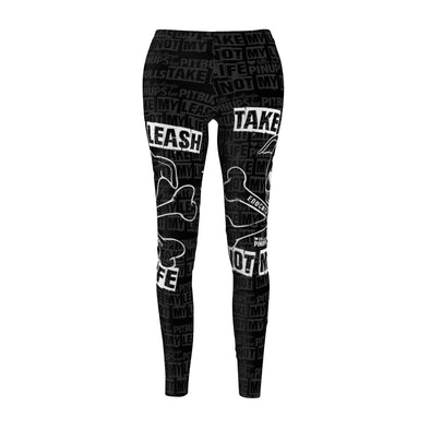 "Women's Cut & Sew Casual Leggings | Bax to the Bone ""Educate, Don't Discriminate"""