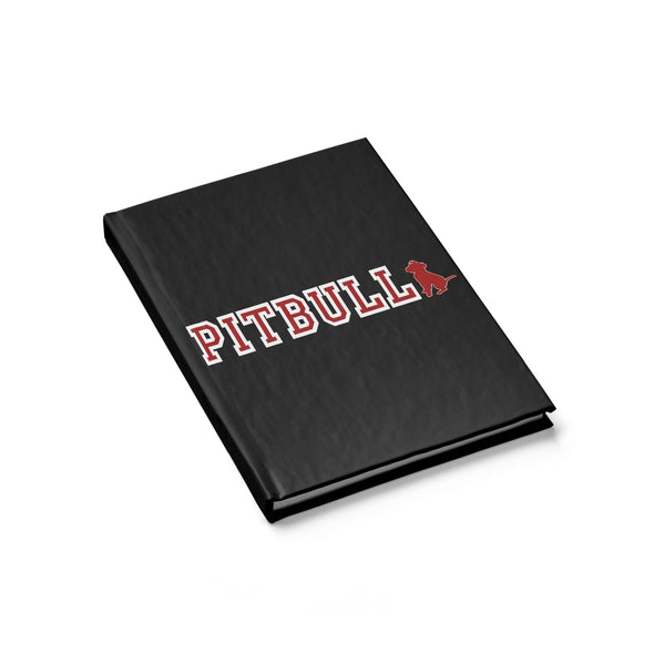 Pit Bull Collegiate Logo | Blank Journal | Accessory