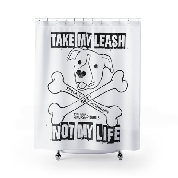 Accessory | Educate, Don't Discriminate (BAX TO THE BONE) | Shower Curtains