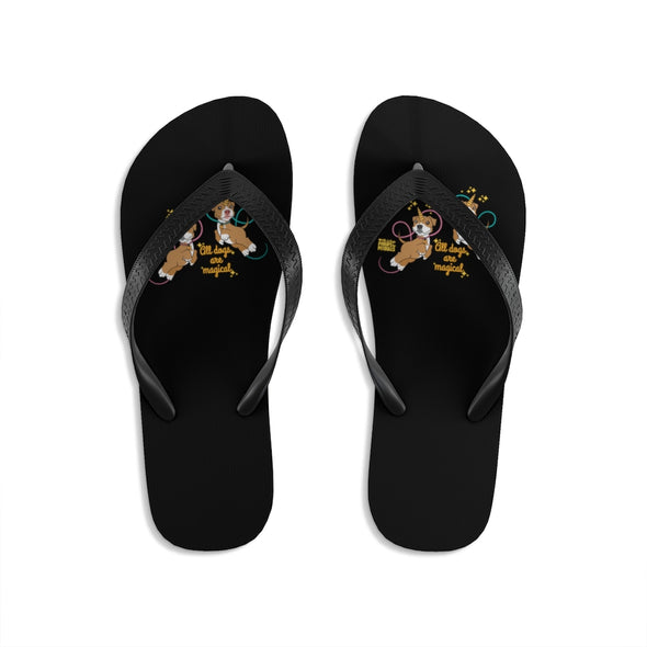 Unisex | All Dogs Are Magical (Piticorn)  | Flip-Flops