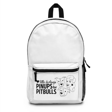 Pinups for Pitbulls, Inc. LOGO Backpack (Made in USA)