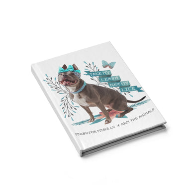 Blank Journal | Arm The Animals x Pinups For Pitbulls