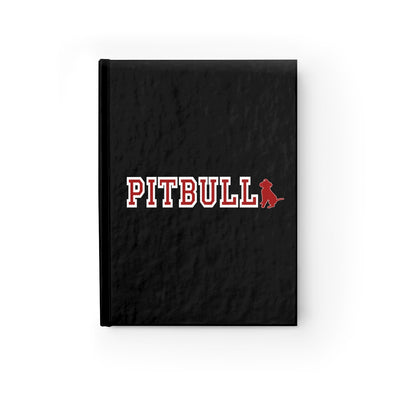 Ruled Line Journal | Pitbull Collegiate Logo
