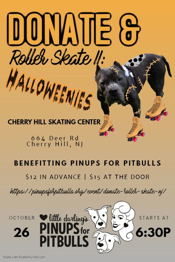 HALLOWEENIE Donate & Roller Skate Party (Cherry Hill, NJ)