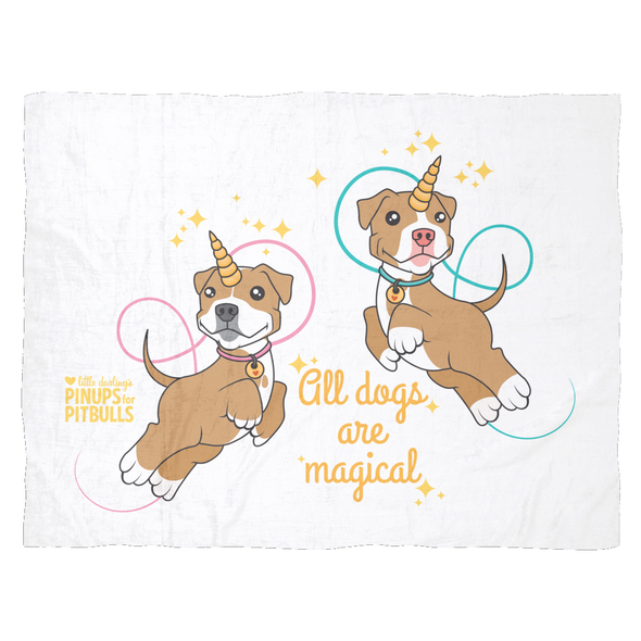 Blanket | All Dogs Are Magical (Piticorn)