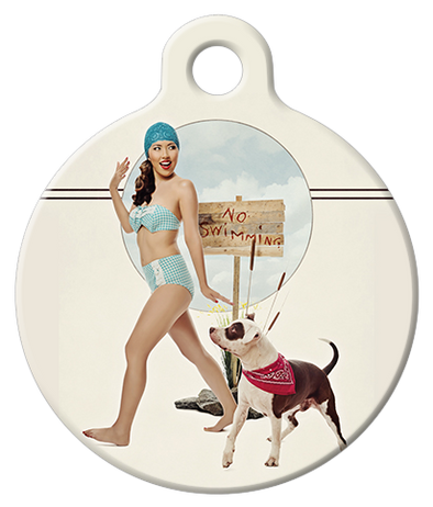 DOG TAG: Swimming