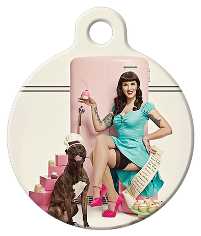 DOG TAG: Cupcake Queen