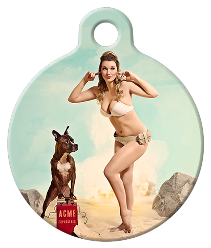 DOG TAG: Beach Bombshell