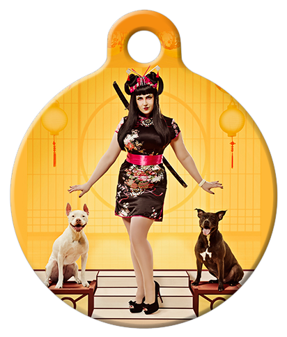 DOG TAG: Geisha