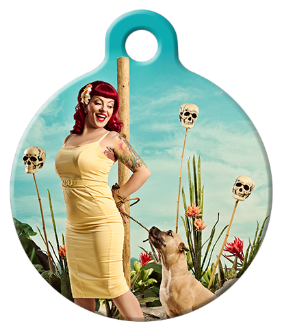 DOG TAG: Halloween Headhunter