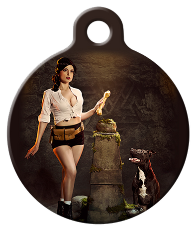 DOG TAG: Indiana Bones