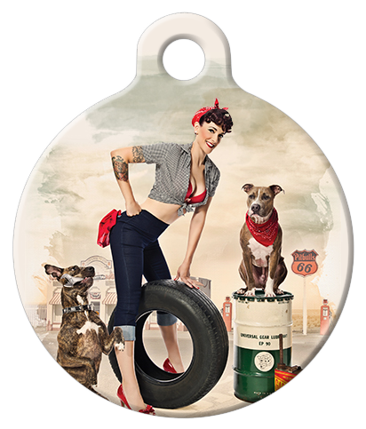 DOG TAG: Rosie the Mechanic