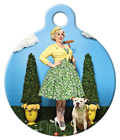 DOG TAG: Coquettish Country Club Dog Tag