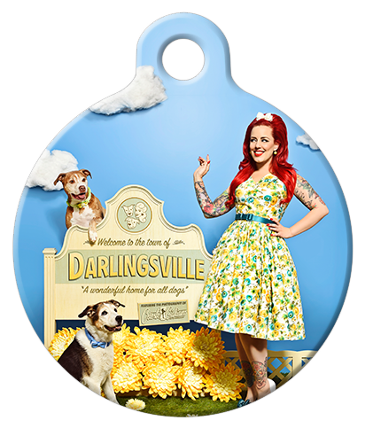 DOG TAG: Welcome to Darlingsville Dog Tag
