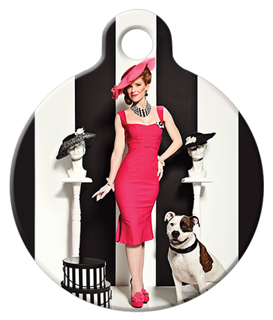 DOG TAG: Department Store Dame Dog Tag