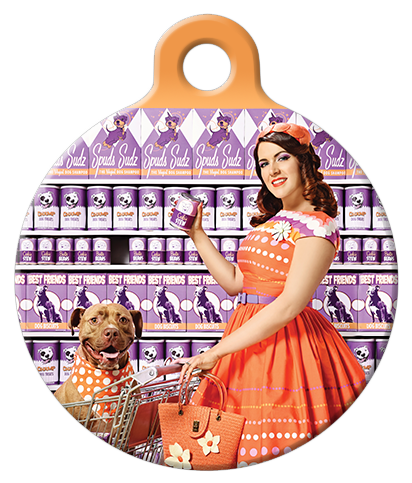 DOG TAG: Grocery Gal Pal Dog Tag
