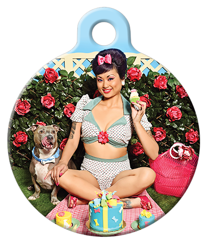 DOG TAG: Picnic Party Dog Tag