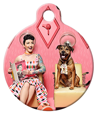 DOG TAG: Sweetheart Salon Dog Tag