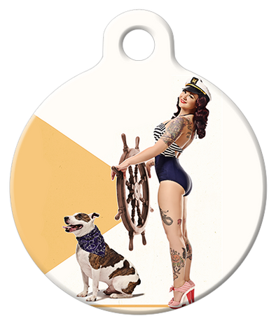 DOG TAG: Nautical