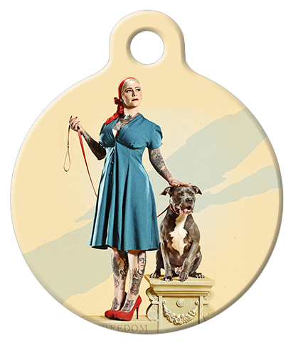 DOG TAG: Freedom for Dogs (take my leash...)