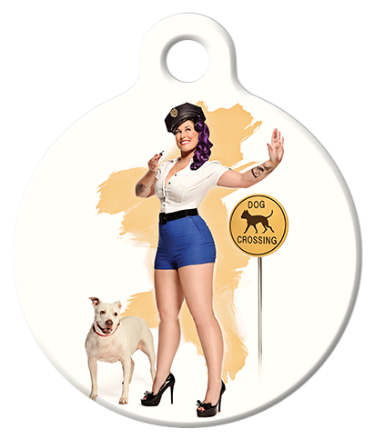 DOG TAG: Crossing Guard Pinup