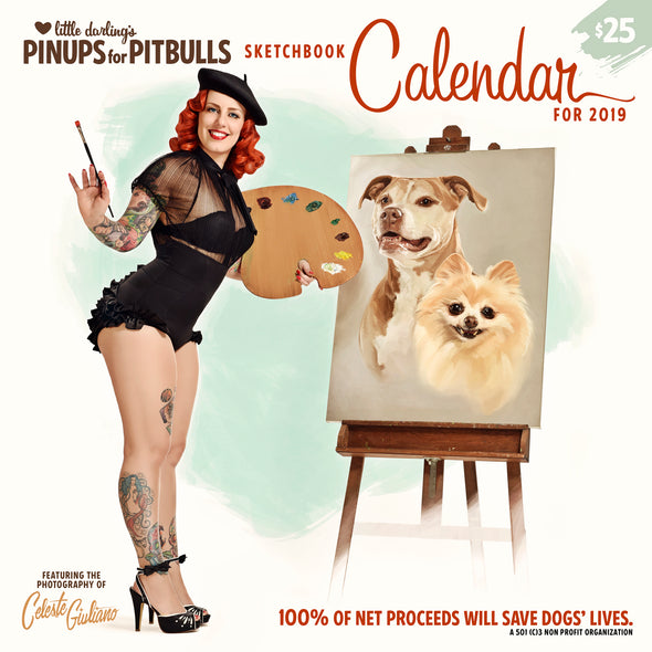 2019 Pinups for Pitbulls Calendar *ON SALE WHILE SUPPLIES LAST*