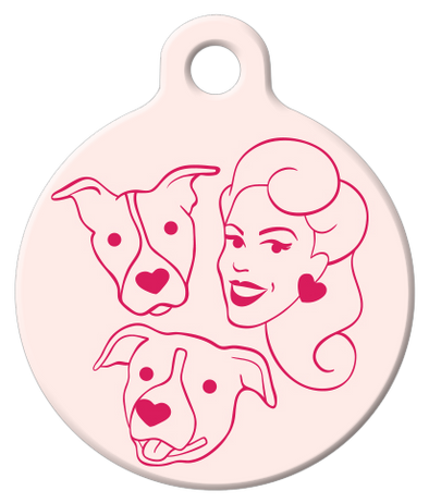DOG TAG: PFPB Logo