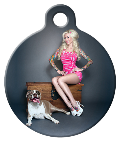 "DOG TAG: Sabina Kelley and ""Petey"""