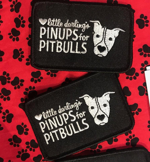 ACCESSORIES: Pinups for Pitbulls Logo Patch feat. Carla Lou