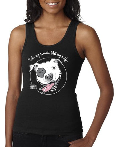 Women's | Take My leash Not My Life (Dog Logo) | Tank Top