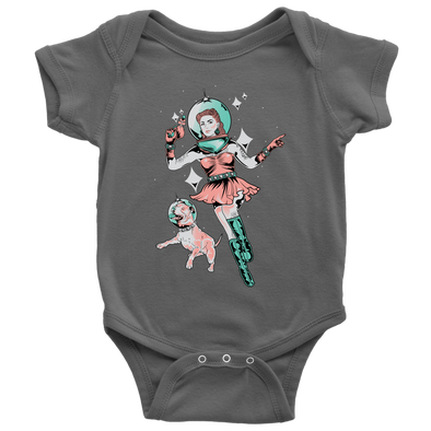 Kids | Space Dog Fly Away | Onesie