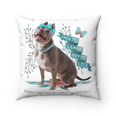 Square Pillow | Arm The Animals x Pinups For Pitbulls
