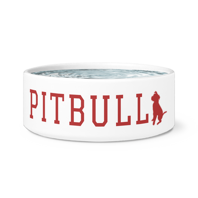 Dog Bowl | Pit Bull Collegiate Logo