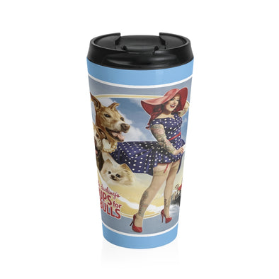 2021 Calendar Cover Art Stainless Steel Travel Mug