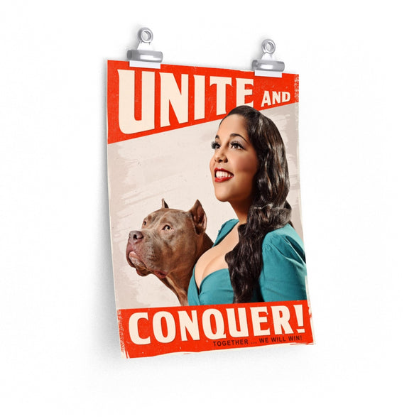Posters | Unite & Conquer | 2018 Pinups for Pitbulls