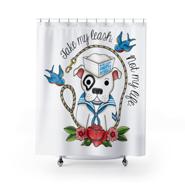 Accessory | Take My Leash (Sailor) | Shower Curtains