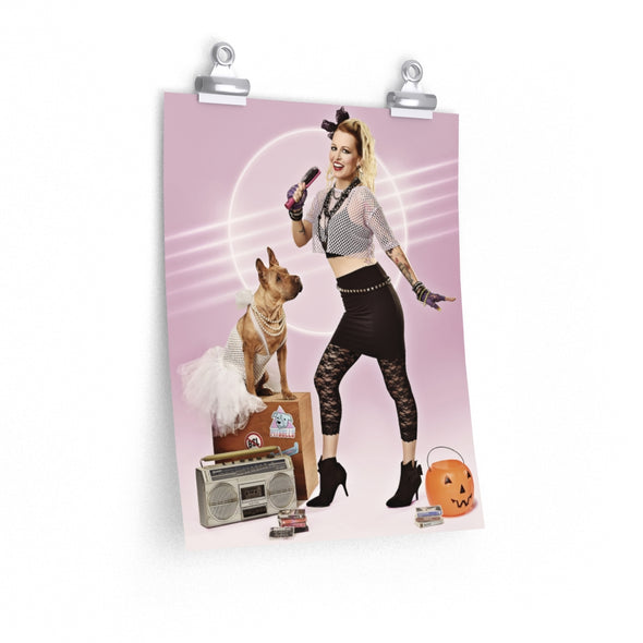 2020 Calendar Posters | Halloween Time with Shannon & Delilah